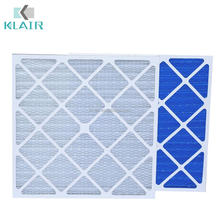 disposable paper pleated industrial furnace filters