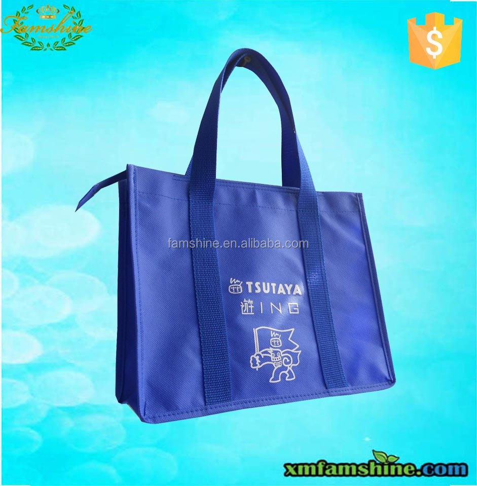 Eco friendly nonwoven promotional shopping bag