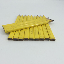 7 Inch Octagon Wooden Builders Color Mechanical Drawing Carpenter Lead With Ruler Calibration