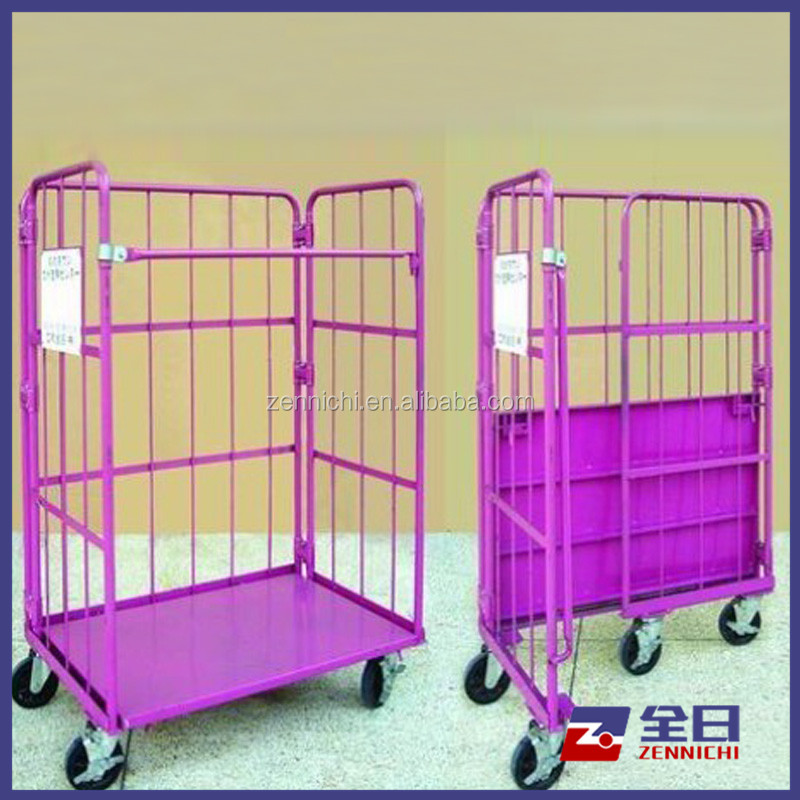 Wire Mesh Cage Trolley