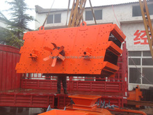 Sand rock gravel stone YK Series dewatering Vibrating Screen/Screen/horizontal Vibrating Sieve with Professional production