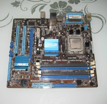 P5G41C-M LX Desktop Motherboard supports DDR2 / DDR3 LGA 775 all solid mainboard