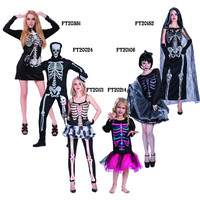 Halloween Adult And Kids Costumes Skeleton