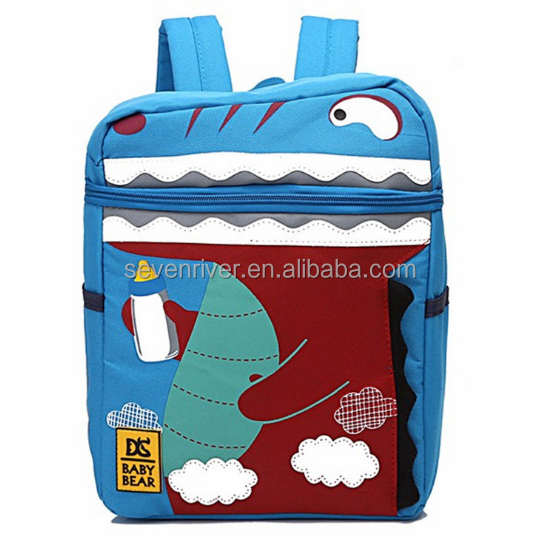 Wholesale primary school children's school bags cute cartoon early education kindergarten school bag