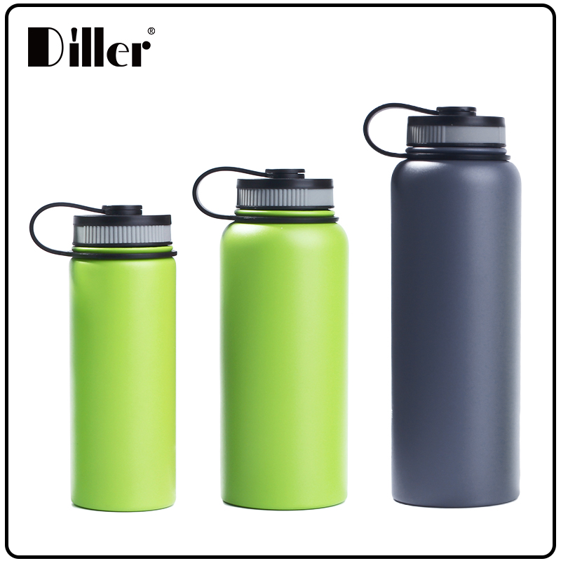 Diller Wholesale Vacuum Insulated Stainless Steel Hydro Flask Bottle Made In China