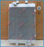 EC210B old heavy equipment parts hydraulic oil cooler for volvo excavator