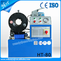 China lowest price hydraulic hose press machine for Engineering and Construction Machinery