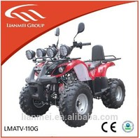 110cc petrol ATV quad bike 4 wheeler for kids with reverse
