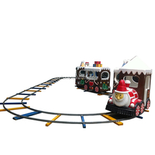 Amusement rides commercial electric ride on train Christmas Train for sale