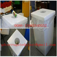 Corrugated Plastic Paper Recycling Bins