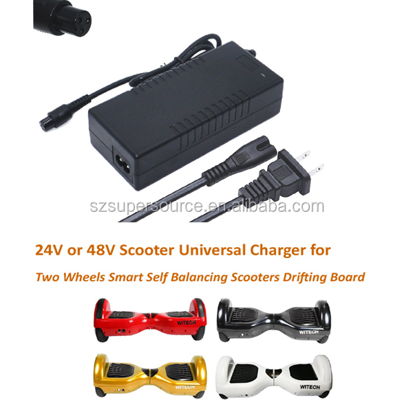 42V 2A motherboard for self balancing electric scooter 2 wheel hoverboard charging cord charger