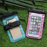 2017 Universal waterproof case phone pouch waterproof laundry bag for Huawei
