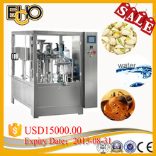 Professional high efficiency rotary Premade Spout Bag Counting full automatic Tomato paste Carousel type production line