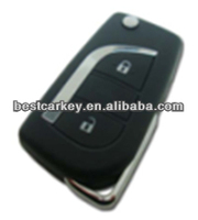 Competitive price 2 buttons remote key 315mhz toy43 key blade body kit for toyota corolla for toyota corolla