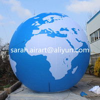 Advertising Inflatable Earth Balloon/ giant inflatable globes/giant inflatable balloon
