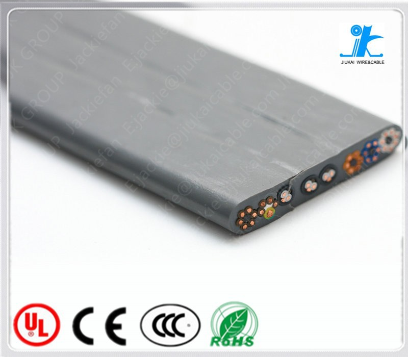 JK car lift cable Flat Traveling Cable for Elevator