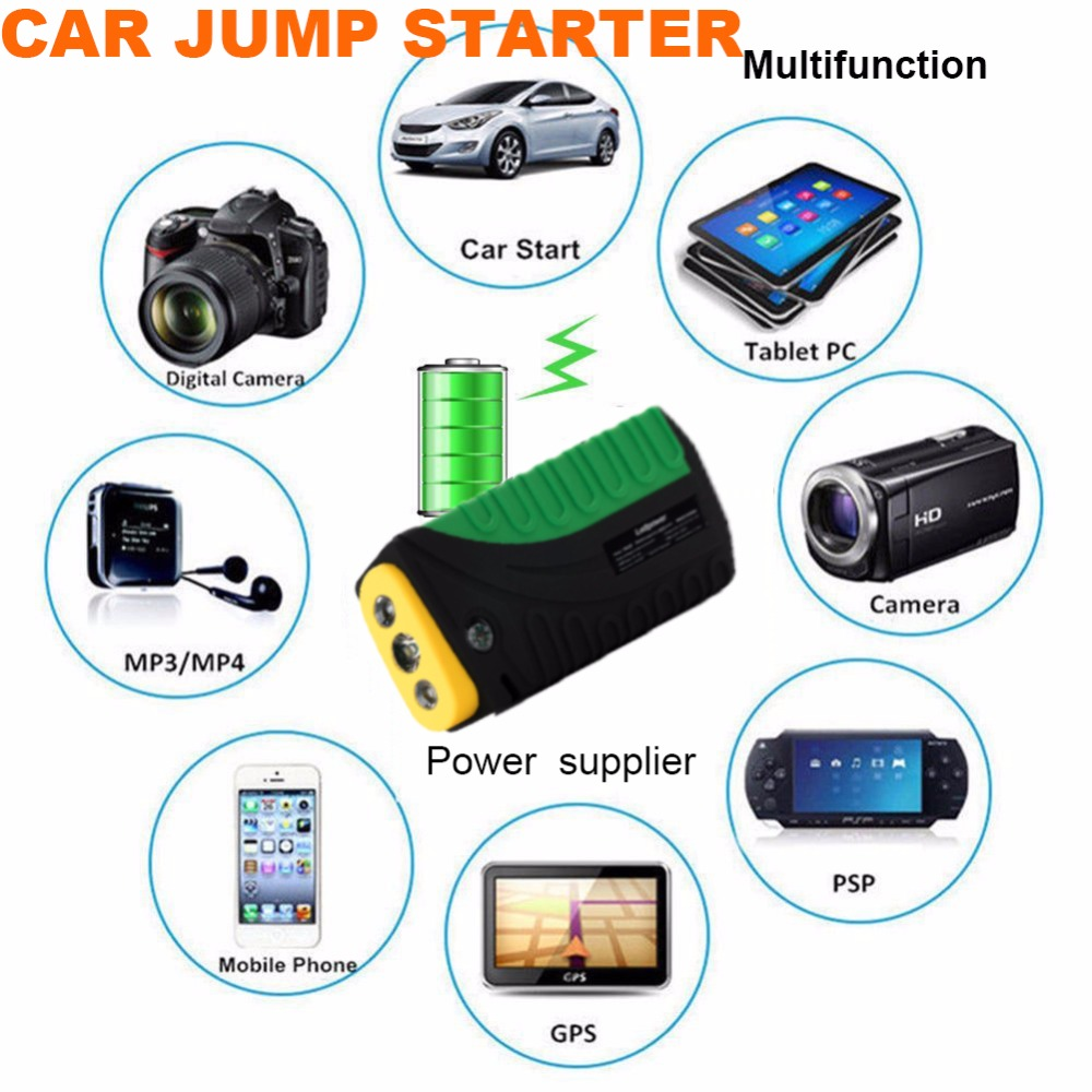 HOT SELL 16800mah Portable Car Jump Starter Power Bank Emergency Auto Battery Booster Pack