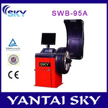 2045 hot sale wheel balancer, used wheel balancer, tyre changer and wheel balancer