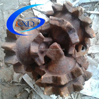 Used steel tooth drill bits high manganese steel scrap sale with discount prices