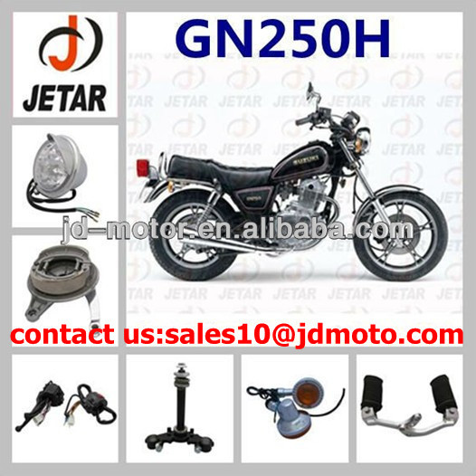 GN250H motorcycle parts