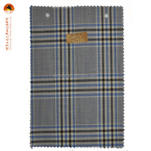 Best quality tartan plaid 100% wool suit fabric