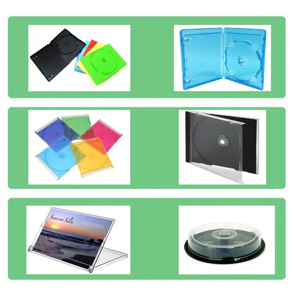 2017 Wholesale Good Quality 14mm DVD Case for Movie
