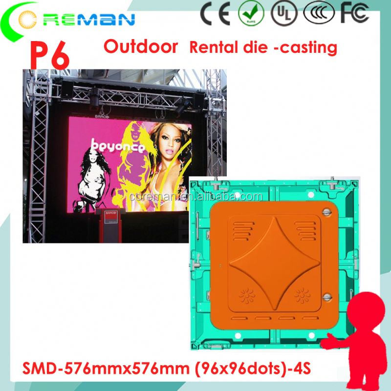 video streaming double sided led screen tv p5 p6 p8 p10 p9 , OEM LED rental display screen manufacture