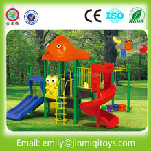 JMQ-P063C Kids playground jungle tour style outside play structure