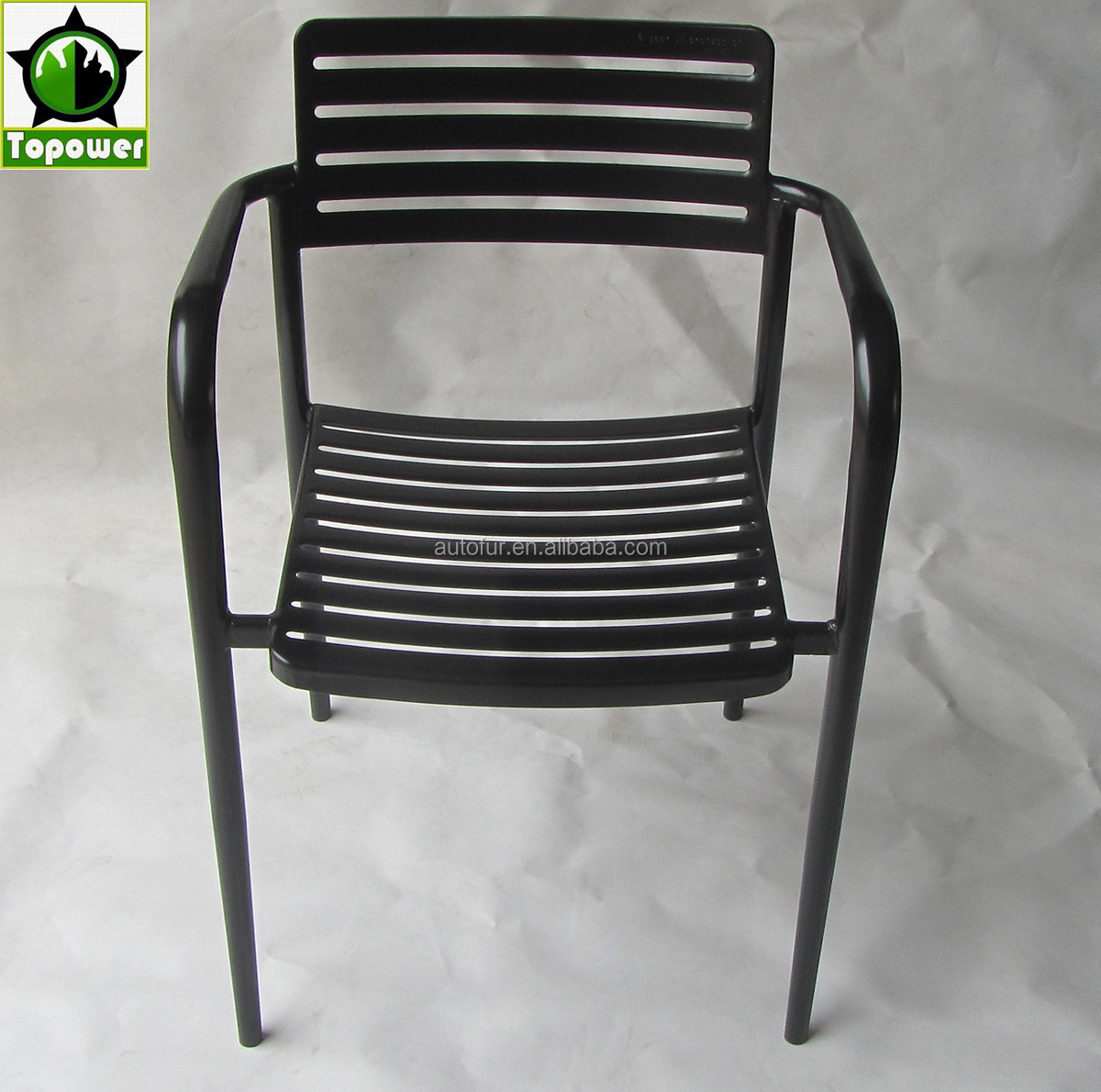 Commercial Quality Outdoor Stackable Metal Chair outdoor garden chair