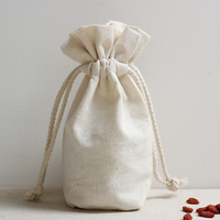 Organic Cotton Muslin Pouch Seed Bag