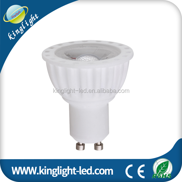 Gu10 5W COB LED Not Dimmable Pure White 6000K Spot Light Lamp