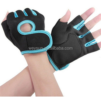 Men&Women Fitness Exercise Workout Weight Lifting Sport Gloves Gym Body Building Training Half Finger