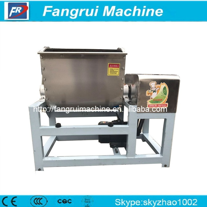 High-output automatic cookie dough mixer