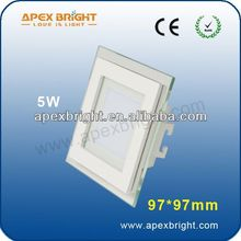 halogen down light smd led stained glass lamp
