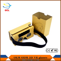 "HOT!!!2016 NEW FIIT VR 2N Plastic Version Virtual Reality 3D Glasses google cardboard for 4.0 to 6.5"" Smart phone"