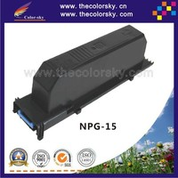 (CS-CNPG15) compatible toner printer cartridge for Canon NP7160 - NP7164 NP7210 NP7214 TG-15 TG15 TG 15 CEXV 6 BK (7K pages)