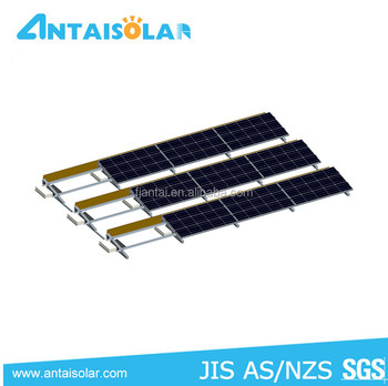 Non-penetrating roof solar mounting