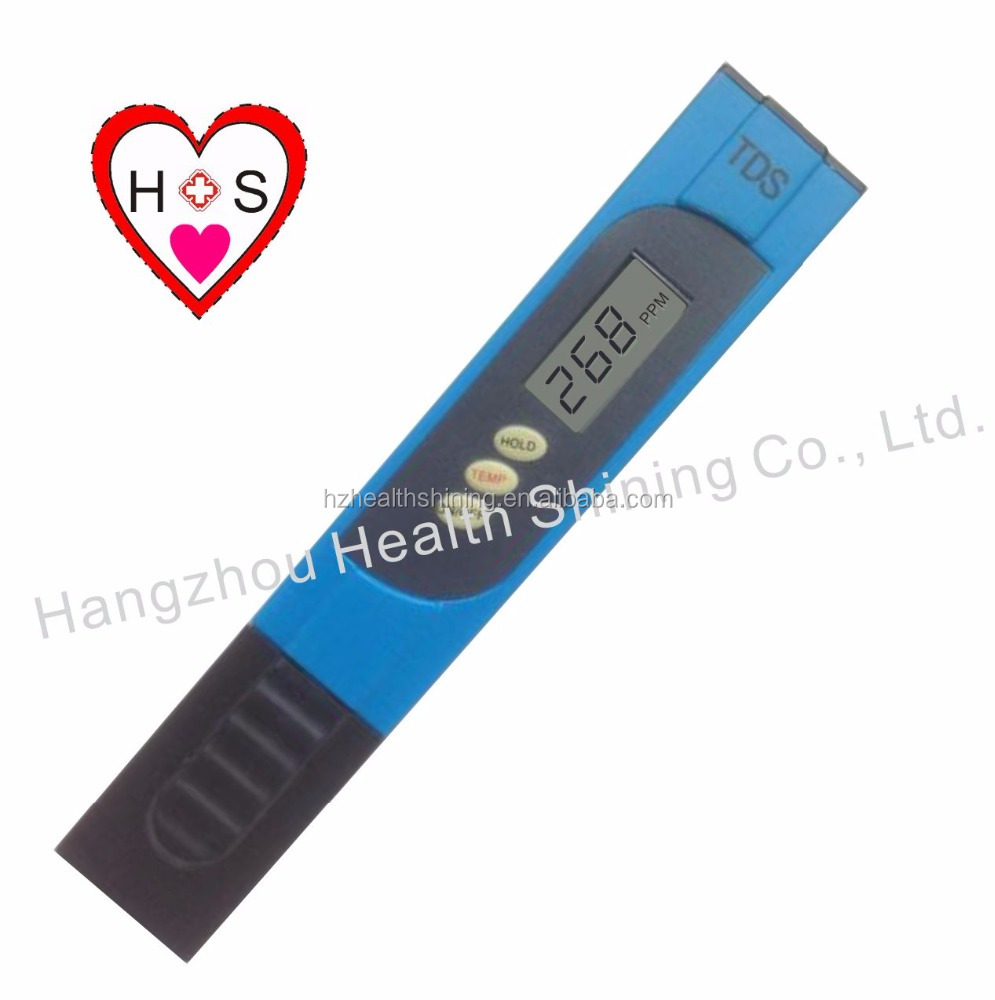 2016 China Supplier PH/ORP/EC/CF/TDS Meter ph meters for water testing