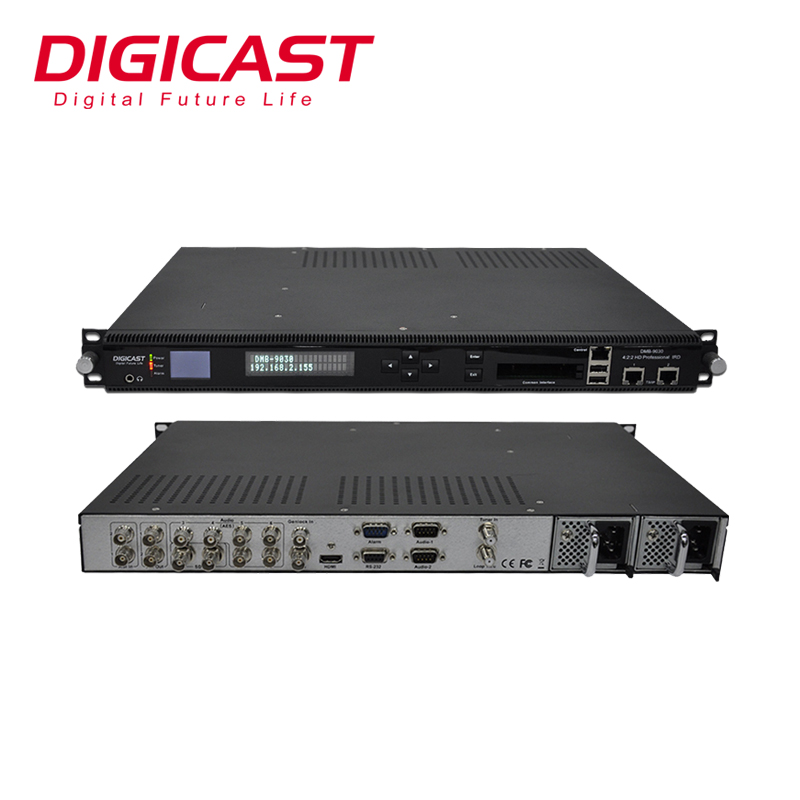 (DMB-9030) DVB-S2/DVB-T Professional Integrated Receiver Decoder(IRD) support 4:2:2 and 4:2:<strong>0</strong> with ASI,IP input and output