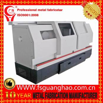 Custom make mild steel sheet metal machine enclosure factory