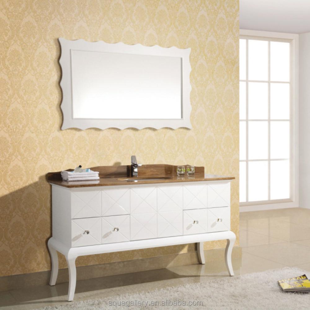 Pure White Oak Wood Hotel Bathroom Furniture Single Sink Vanity Buy Pure White Oak Wood Hotel