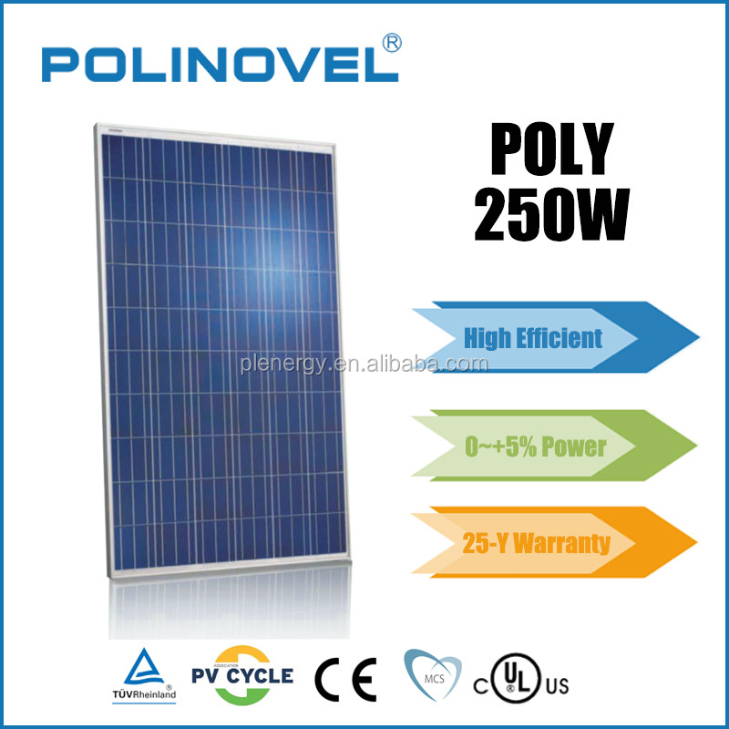 High quality 250 watt solar panel price for bangladesh