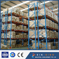Competitive price china supplier cheap merchandise shelves por steel pallet rack