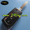universal remote control key for toyota Camry and prodo key before 2007 smart key toyota 3 buttons