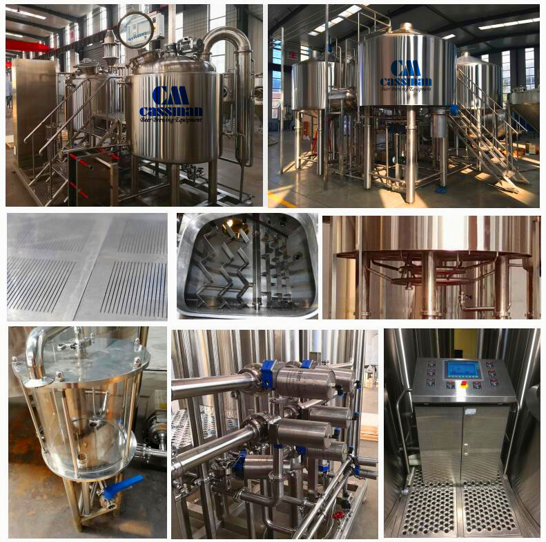 micro brewery system 2500l beer brewing equipment usa