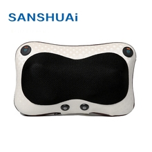 Muscle relaxation electric portable car massage pillow