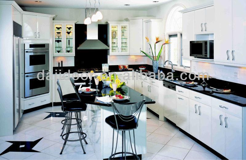 Black Galaxy Kitchens In Modern House Dj K250   Buy Modern House,Beautiful  Modern Kitchens,Modern Full Set Kitchen Product On Alibaba.com