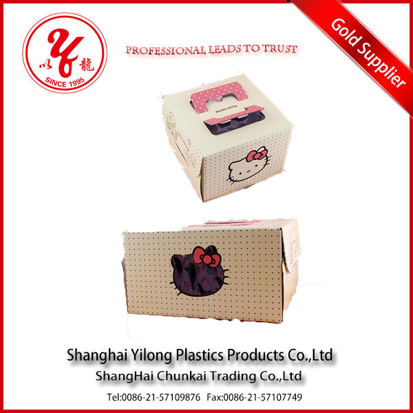 Gift & Craft Industrial Use and Recyclable Feature paper box with clear plastic cover