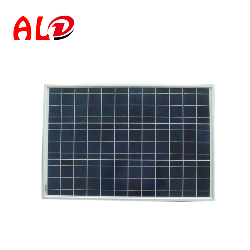 China manufacturer 50W pv polycrystalline photovoltaic solar panels