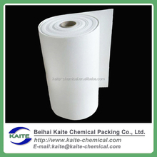 Substitute for glass wool fire resistant ceramic fiber paper